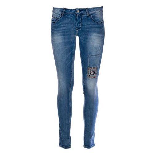 Timeout jeansy damskie 30/30 niebieski