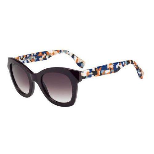 Fendi Okulary słoneczne ff 0204/s fendi chromia 5nd/j8