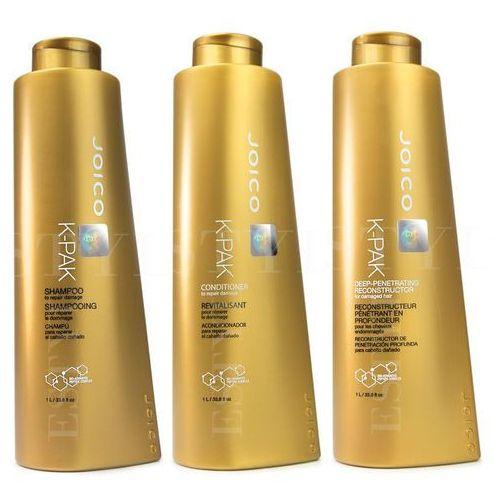 Joico k-pak | zestaw regenerujący: szampon 1000ml + odżywka 1000ml + maska 1000ml (9753197531509)