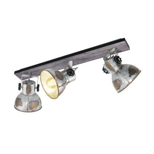 Eglo 49652 - Oświetlenie punktowe BARNSTAPLE 3xE27/40W/230V (9002759496524)