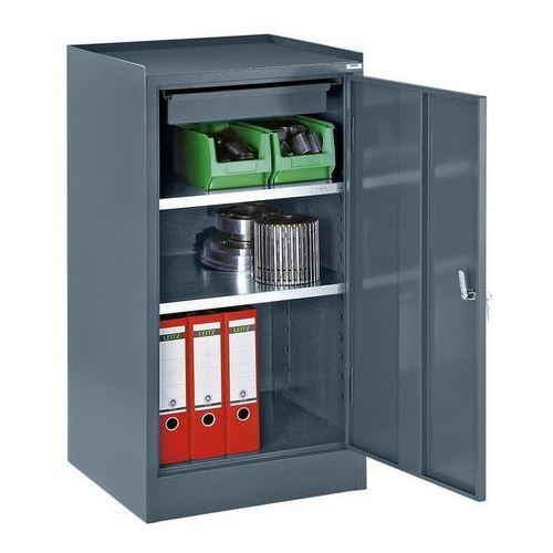 Szafa na narzędzia,z 1 szufladą, 2 półki, wys. x szer. x gł. 1000 x 500 x 500 mm