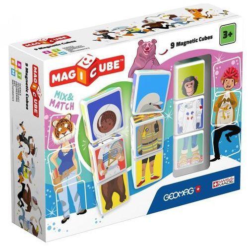 zestaw magicube - mix & match 9 szt. marki Geomag