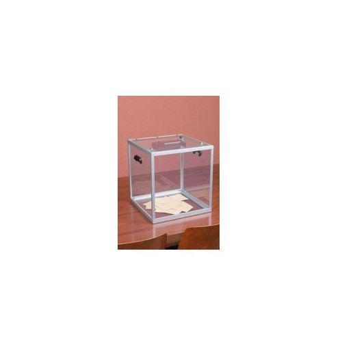 Duża urna z plexi pomieści do 1200 standardowych kart do głosowania wyprodukowany przez Procity