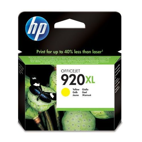 HP oryginalny ink blistr, CD974AE#231, No.920XL, yellow, 700s, HP Officejet, IHPCD974AXQG (6283746)