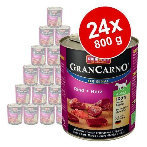Animonda grancarno adult - wołowina/indyk 800g