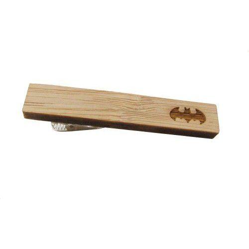 E-spinki.pl Spinka do krawata drewniana batman