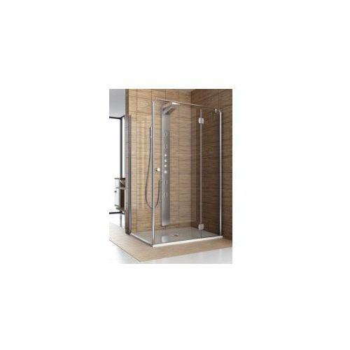 AQUAFORM drzwi Sol De Luxe 80 uchylne, montaż ze ścianką 103-06049/103-06050