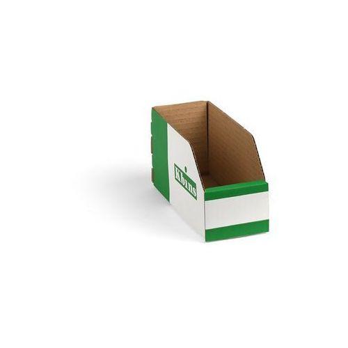 Skrzynki regałowe z kartonu, składane, opak. 150 szt., dł. x szer. x wys. 200x75 marki K bins limited