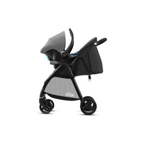 wózek spacerowy misu ts comfy grey - kolor szary marki Cbx