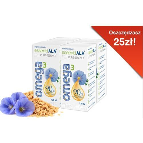 OKAZJA - EssentiALA Pure Essence of Omega 3, 4-pack