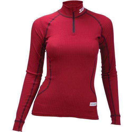 Swix koszulka funkcyjna damska racex czerwony xs (7045952129600)