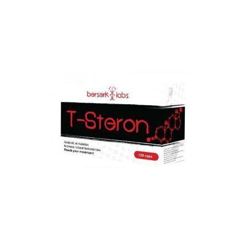 Berserk Labs T-Steron 120caps (zwiększanie siły)