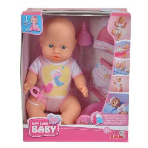 Simba Lalka new born baby - bobas z ubrankami (4006592524852)