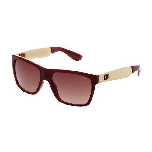 Okulary przeciwsłoneczne męskie - gu6832-22 marki Guess