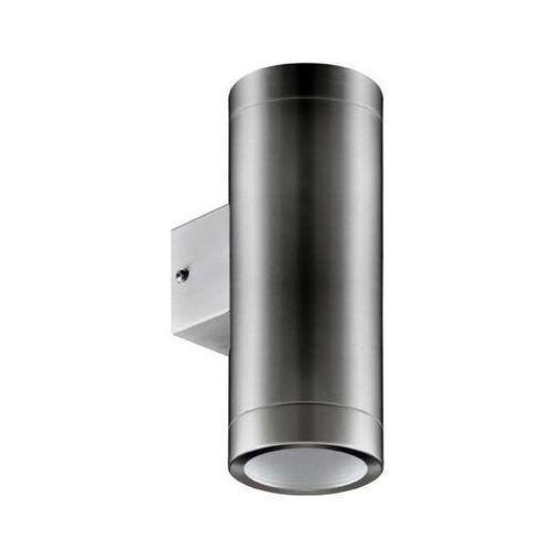 Kinkiet lampa elewacyjna aster 03016 zewnętrzna oprawa hermetyczna do ogrodu ip54 tuba outdoor inox marki Ideus