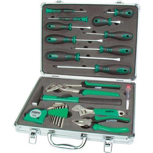 Zestaw narzędzi Mannesmann M29024, w praktycznej walizce 24 elem. - produkt z kategorii- Zestawy narzędzi ręcznych