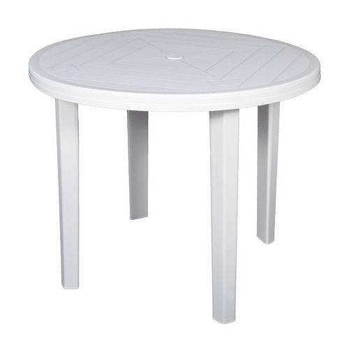 Obi Stół opal średnica 90 cm biały (5907795804101)