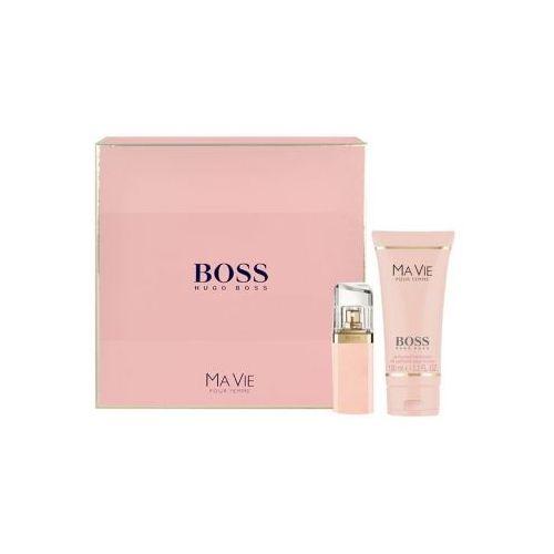 HUGO BOSS Boss Ma Vie Pour Femme zestaw Edp 30ml + 100ml Balsam dla kobiet
