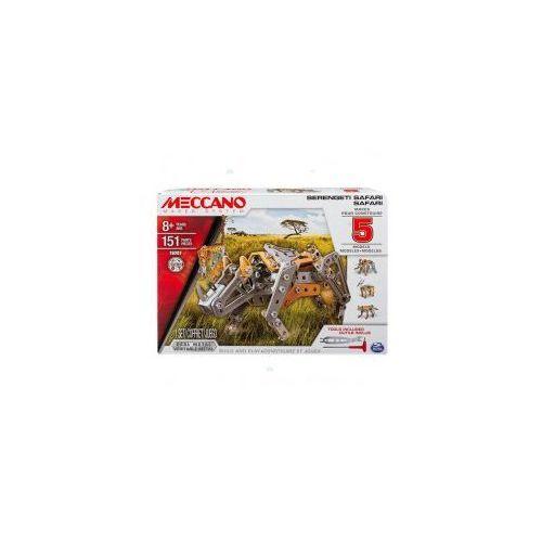 Spin master Meccano core - multi zestaw 5 modeli - safari *