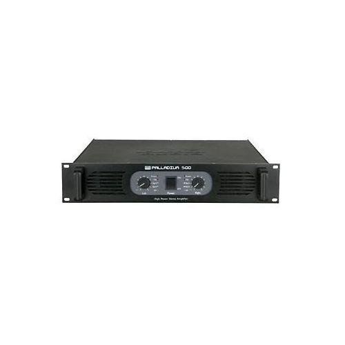 DAP Audio P-500 black wzmacniacz mocy - sprawdź w wybranym sklepie