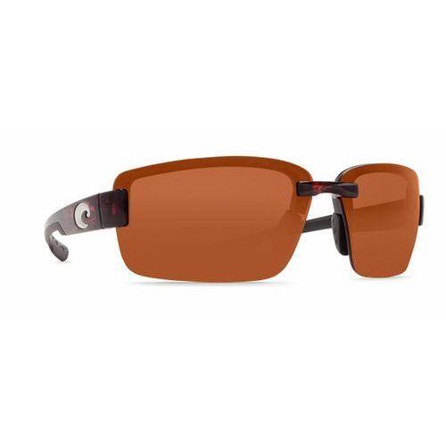 Okulary Słoneczne Costa Del Mar Galveston Readers Polarized GV 10 OCP, kolor żółty