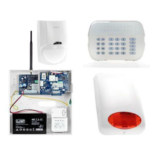 Zestaw alarmowy 1x czujnik ruchu manipulator led powiadomienie, sterowanie, konfiguracja gsm marki Dsc