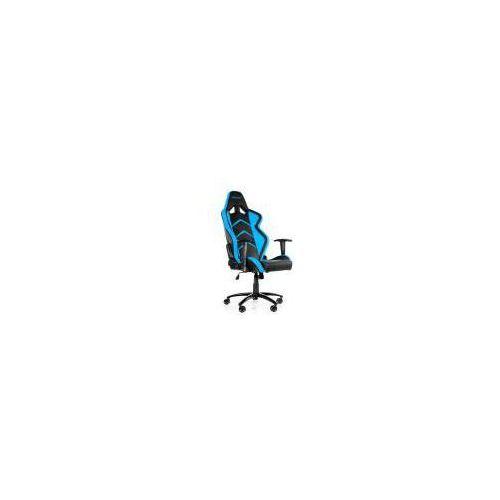 Akracing Fotel  player czarno-niebieski (ak-k6014-bl) darmowy odbiór w 20 miastach!, kategoria: pozostałe gry i konsole