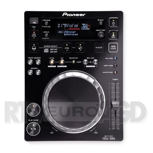 Odtwarzacz DJ PIONEER CDJ-350