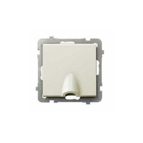 OSPEL SONATA GPPK-1R/M/27 Przyłącz kablowy ECRU, GPPK-1R/m/27
