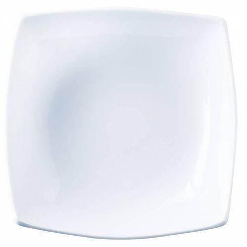 Talerz głęboki Delice | biały | 200x200x(H)55 mm