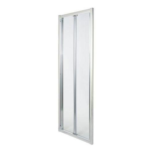 Drzwi prysznicowe składane Onega 90 cm chrom/transparentne, C28