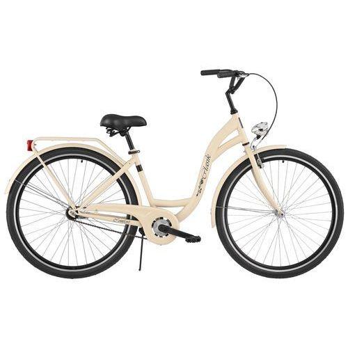 Rower DAWSTAR Retro S1B Cappucino + Odjazdowa oferta cenowa! + 5 lat gwarancji na ramę! + DARMOWY TRANSPORT!