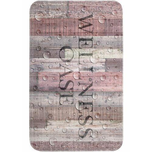 Dywaniki łazienkowe z pianką memory jasnoróżowy marki Bonprix