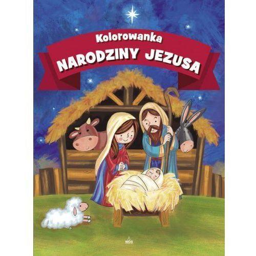 Wydawnictwo diecezjalne Kolorowanka. narodziny jezusa - praca zbiorowa (9788381011822)