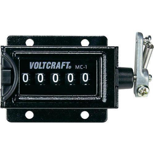 Licznik mechaniczny Voltcraft MC-1, 58 x 47 mm, 0 - 99999 (4016138523300)