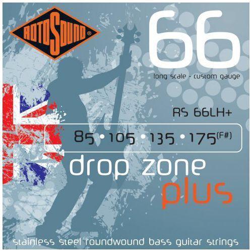 Rotosound rs-66lh+ swing bass 66 struny do gitary basowej 85-175