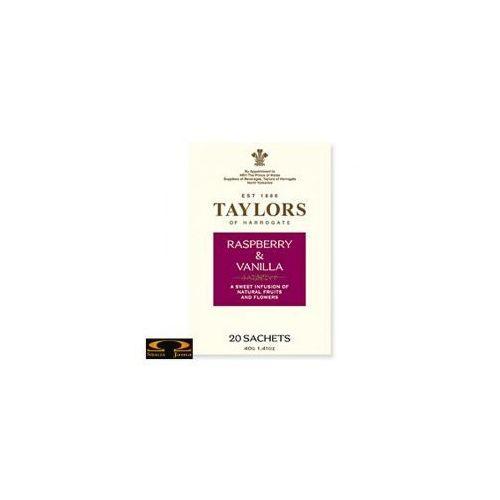 Herbata Taylors of Harrogate herbata Raspberry & Vanilla 20 saszetek