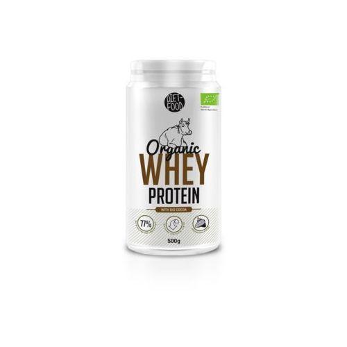 Whey Protein - Białko z serwatki z kakao Bio 500g Diet-Food (5901549275674)