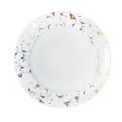 Talerz deserowy cosmopolitan 19 cm mix & match orient złoty marki Cmielow design studio