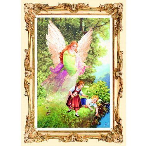 Produkt polski Obrazek z aniołem stróżem