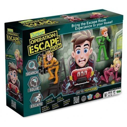 Tm toys Gra operacja: escape room junior - zb-107872 (8719324076340)
