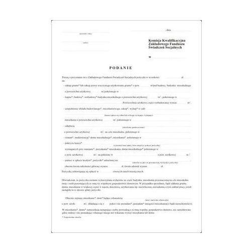 Firma krajewski Podanie o przyznanie pożyczki [pu/2-31-12] (5907510472318)