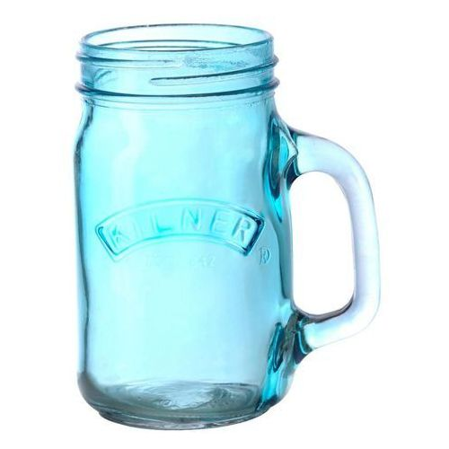 Słoik z uchem (szklanka) Kilner 400 ml niebieski ODBIERZ RABAT 5% NA PIERWSZE ZAKUPY (5010853201238)