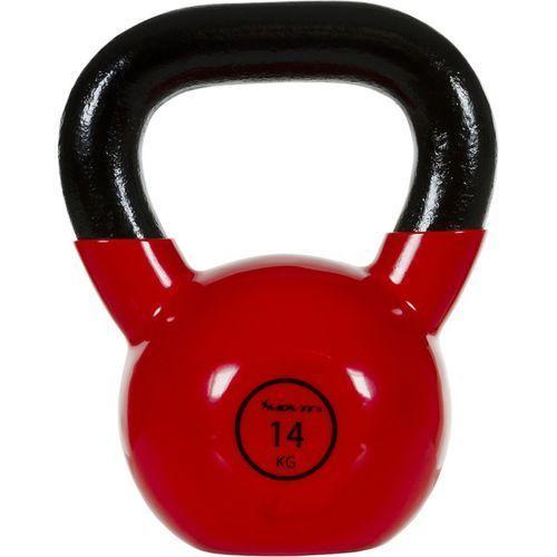 Movit ® Movit® hantla żeliwna kula kettlebell ketla 14kg - 14 kg (20040457)