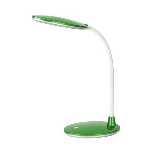 Lampa stołowa lampka biurkowa Rabalux Oliver 1x5W LED zielony 4300.