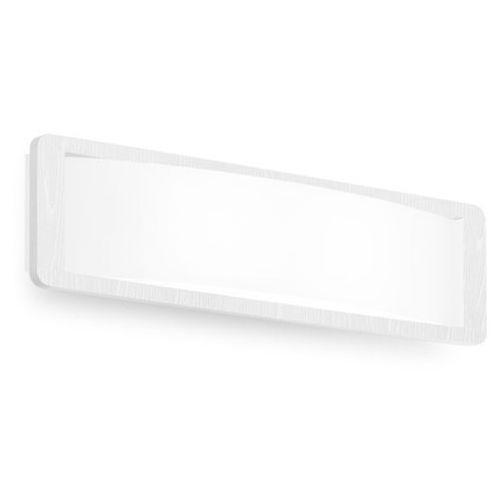 Kinkiet solido 420 biały żarówki led gratis!, 90257 marki Linea light