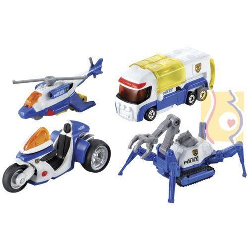 Policja - 4 pojazdy 85103 marki Tomica - plarail