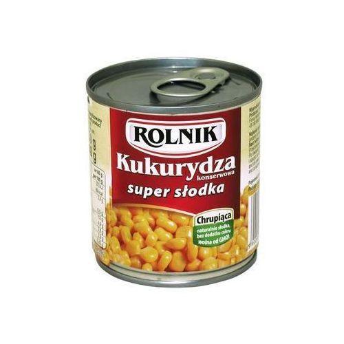 Kukurydza konserwowa super słodka 212ml Rolnik