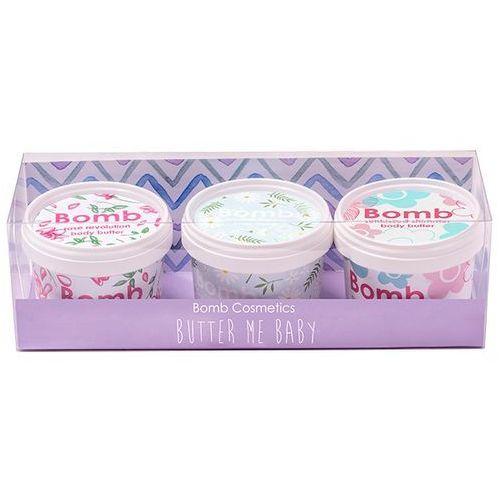 Bomb Cosmetics Butter Me Baby | Zestaw trzech maseł do ciała 3x110ml