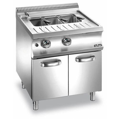 Mbm Urządzenie do gotowania makaronu i pierogów gazowe podstawa z szafką  domina 700   40l   13300w   700x730x(h)850 mm